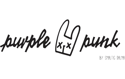 Purple Punk logo